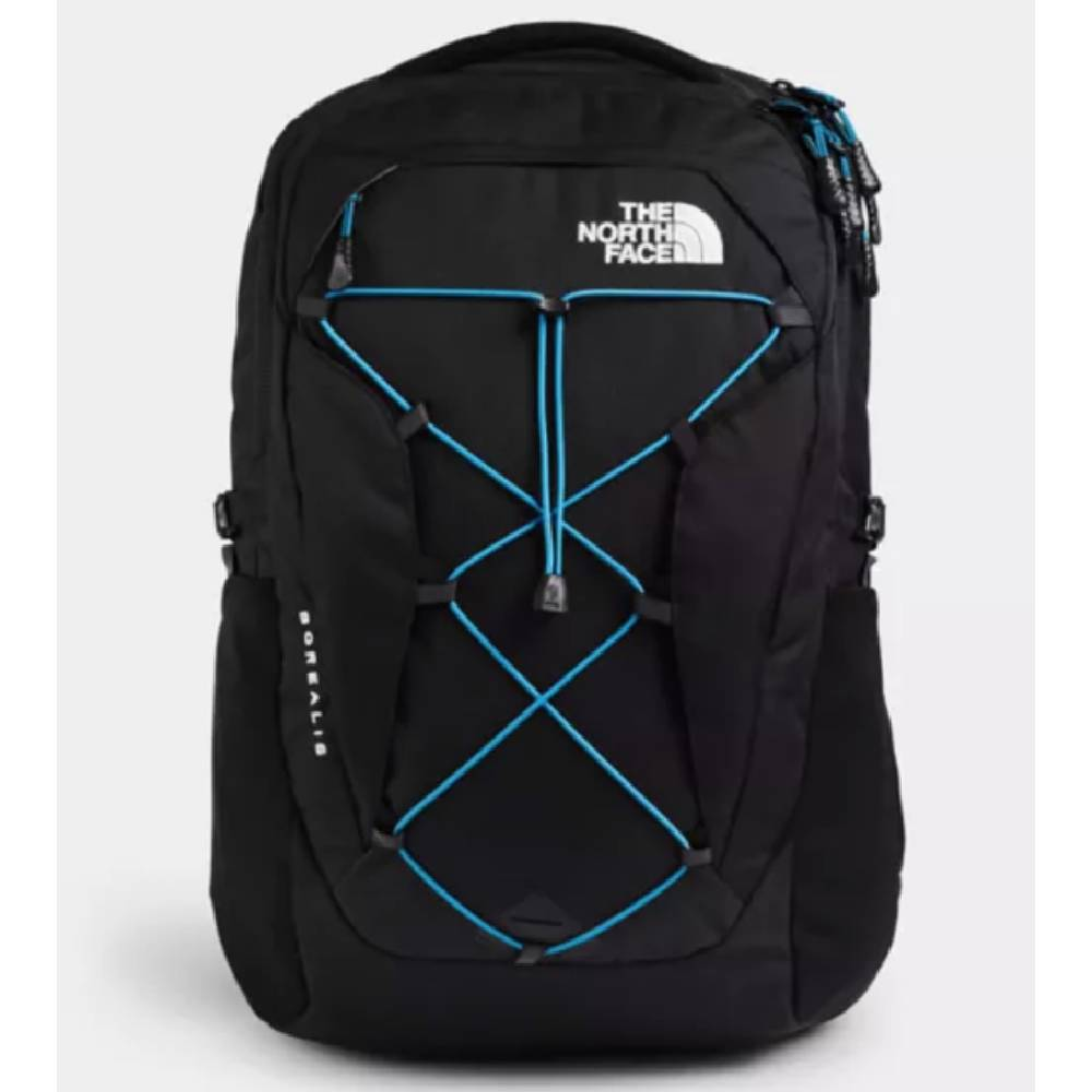 The North Face Women's Borealis Backpack-TNF Black Heather/Blue ACCESSORIES - Luggage & Travel - Backpacks & Belt Bags The North Face Teskeys