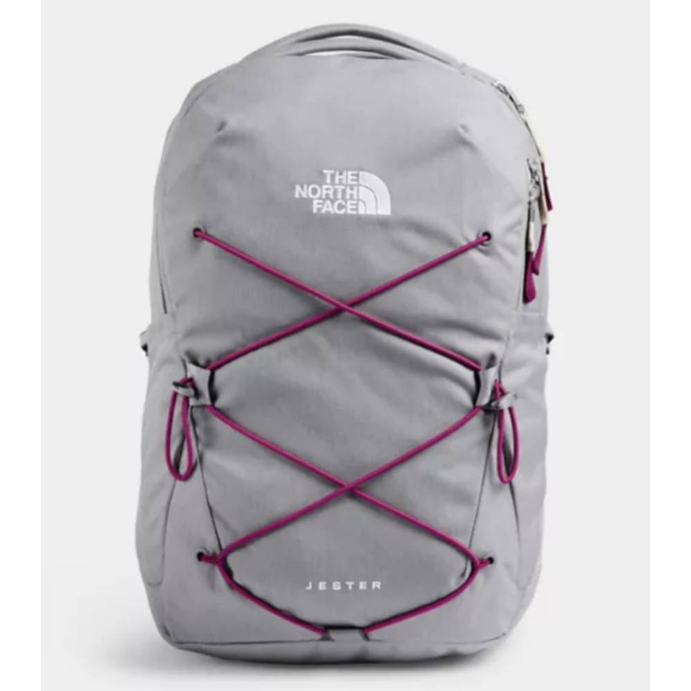 The North Face Women's Jester Backpack-Meld Heather Grey ACCESSORIES - Luggage & Travel - Backpacks & Belt Bags The North Face Teskeys