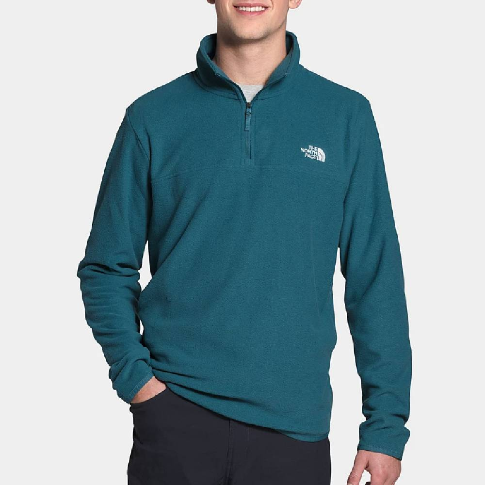 The North Face TKA Glacier 1/4 Zip Pullover MEN - Clothing - Pullovers & Hoodies The North Face Teskeys