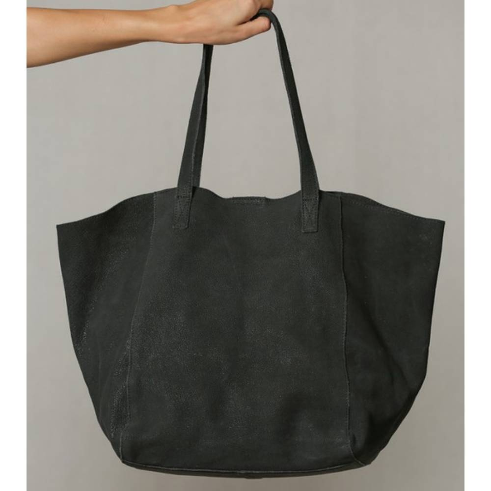 Nubuck Leather Boat Tote WOMEN - Accessories - Handbags - Tote Bags BY TOGETHER Teskeys