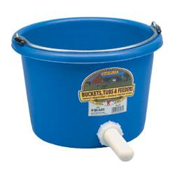 8 Quart Nursing Bucket Farm & Ranch - Barn Supplies - Buckets & Feeders Duraflex Teskeys