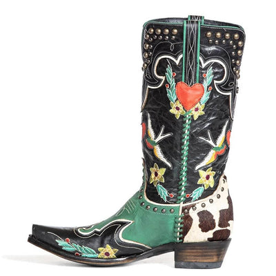 Double D Ranch Midnight Cowboy Boot WOMEN - Footwear - Boots - Fashion Boots OLD GRINGO Teskeys