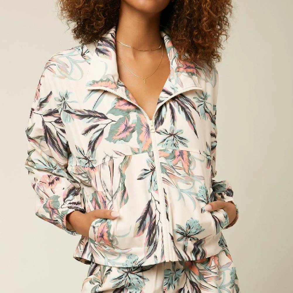 O'Neill Lexington Floral Jacket WOMEN - Clothing - Outerwear - Jackets La Jolla Sport USA DBA O'Neill Teskeys