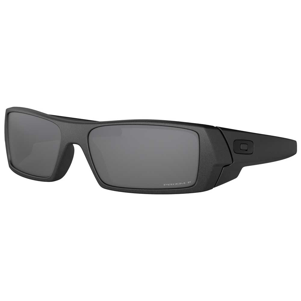 Oakley Gascan Steel w/Prizm Black Polarized Injected Sunglasses ACCESSORIES - Additional Accessories - Sunglasses OAKLEY SALES CORP Teskeys