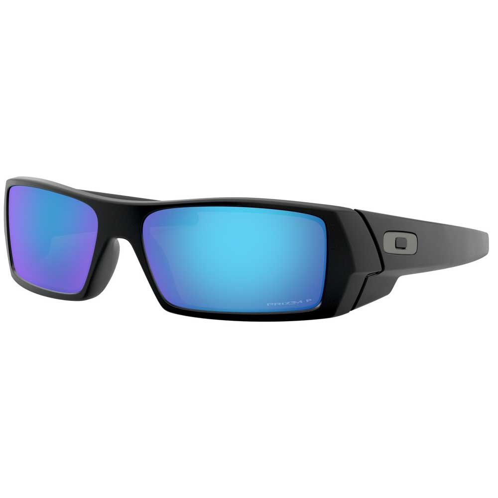 Oakley Gascan Matte Black w/Prizm Sapphire Polarized Injected Sunglasses ACCESSORIES - Additional Accessories - Sunglasses OAKLEY SALES CORP Teskeys