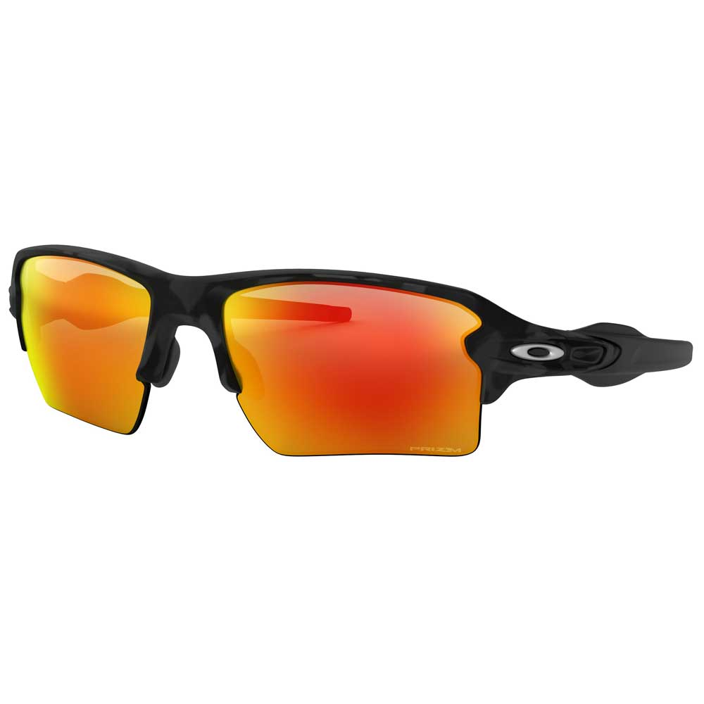 Oakley Flak 2.0 XL Black Camo w/Prizm Ruby Injected Sunglasses ACCESSORIES - Additional Accessories - Sunglasses OAKLEY SALES CORP Teskeys
