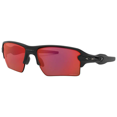 Oakley Flak 2.0 XL Matte Black w/Prizm Trail Torch Injected Sunglasses ACCESSORIES - Additional Accessories - Sunglasses OAKLEY SALES CORP Teskeys