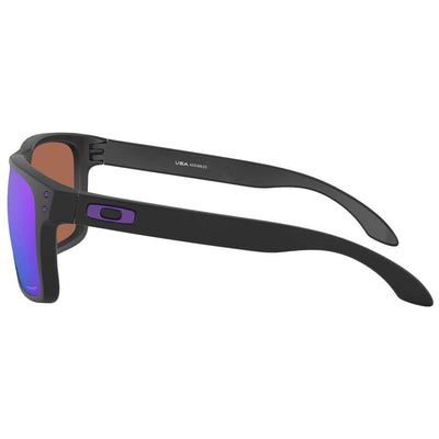 Oakley Holbrook XL Matte Black w/Prizm Violet Injected Sunglasses ACCESSORIES - Additional Accessories - Sunglasses OAKLEY SALES CORP Teskeys
