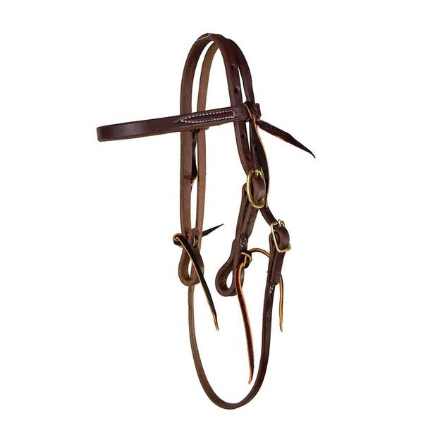 Browband Headstall for Original No Hit Bit Tack No Hit Bit Teskeys