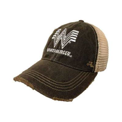 Original Retro Brand Whataburger Trucker Cap HATS - BASEBALL CAPS RETRO BRAND Teskeys