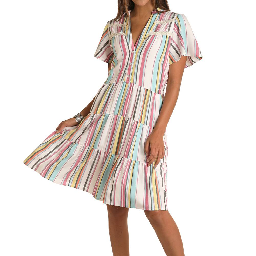 Panhandle Western Stripe Dress