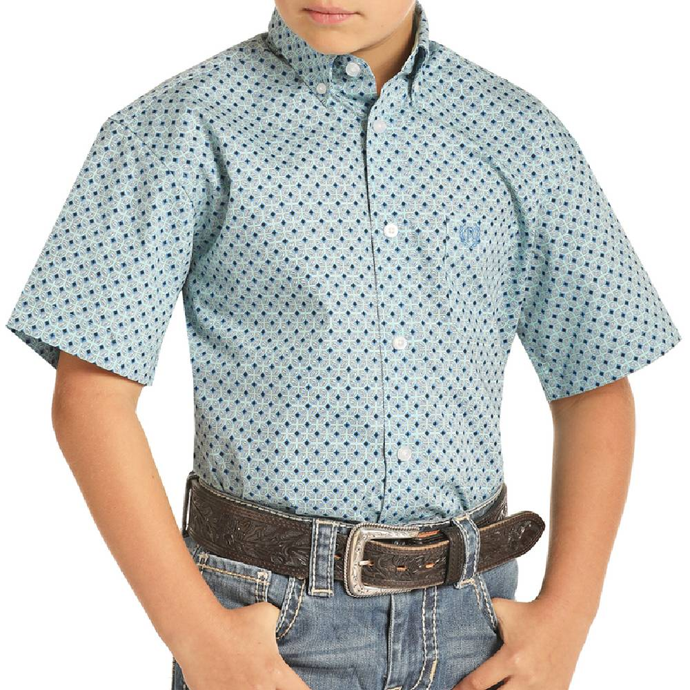 Panhandle Boys Button Down Shirt