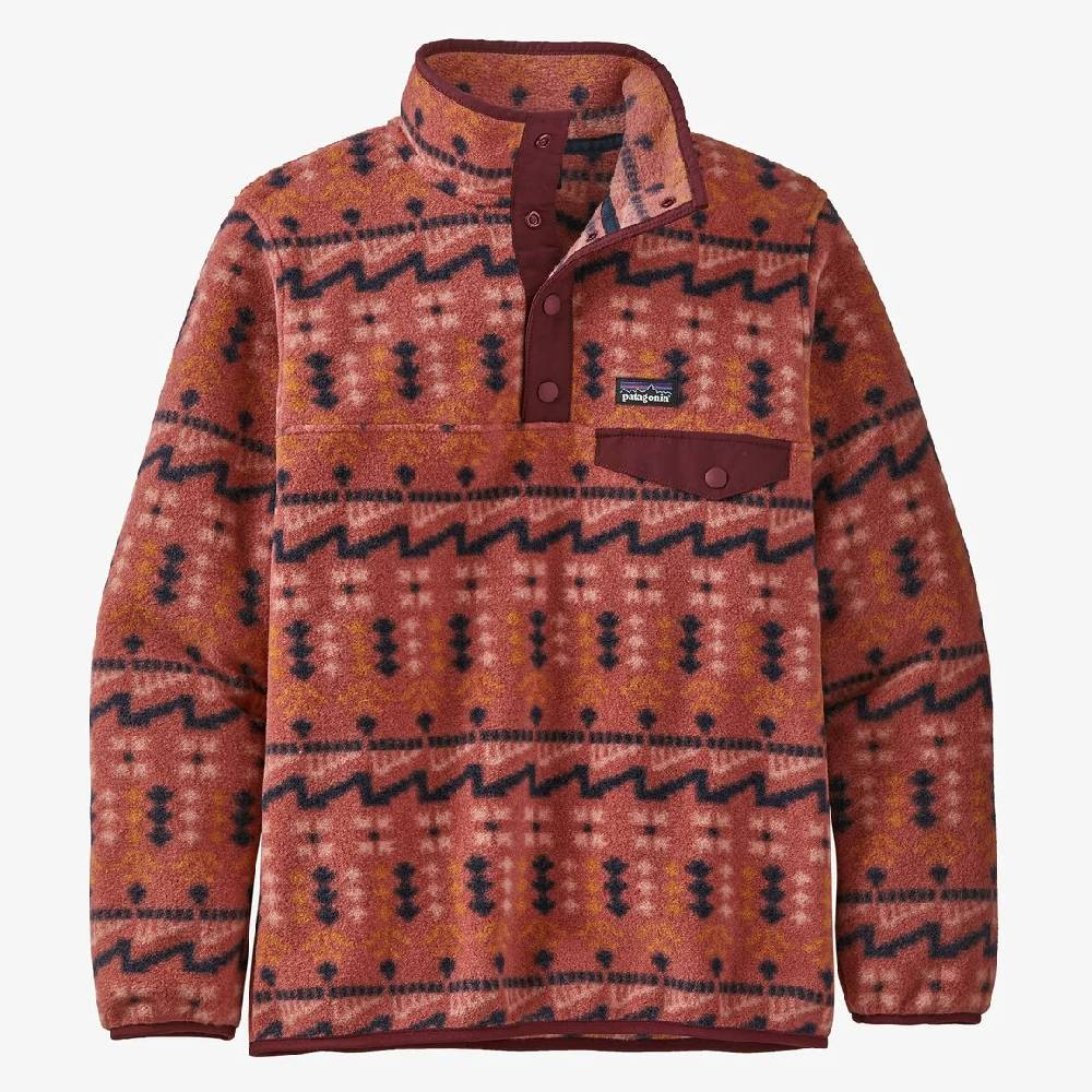 Patagonia Girl's Synchilla Snap-T Fleece Pullover KIDS - Girls - Clothing - Outerwear - Jackets Patagonia Teskeys