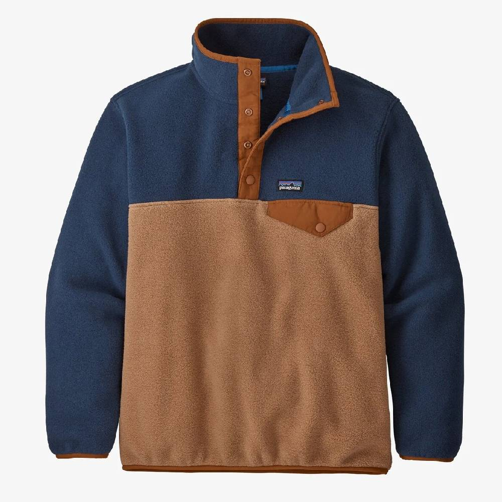 Patagonia Boys' Lightweight Synchilla® Snap-T® Fleece Pullover KIDS - Boys - Clothing - Outerwear - Jackets PATAGONIA Teskeys