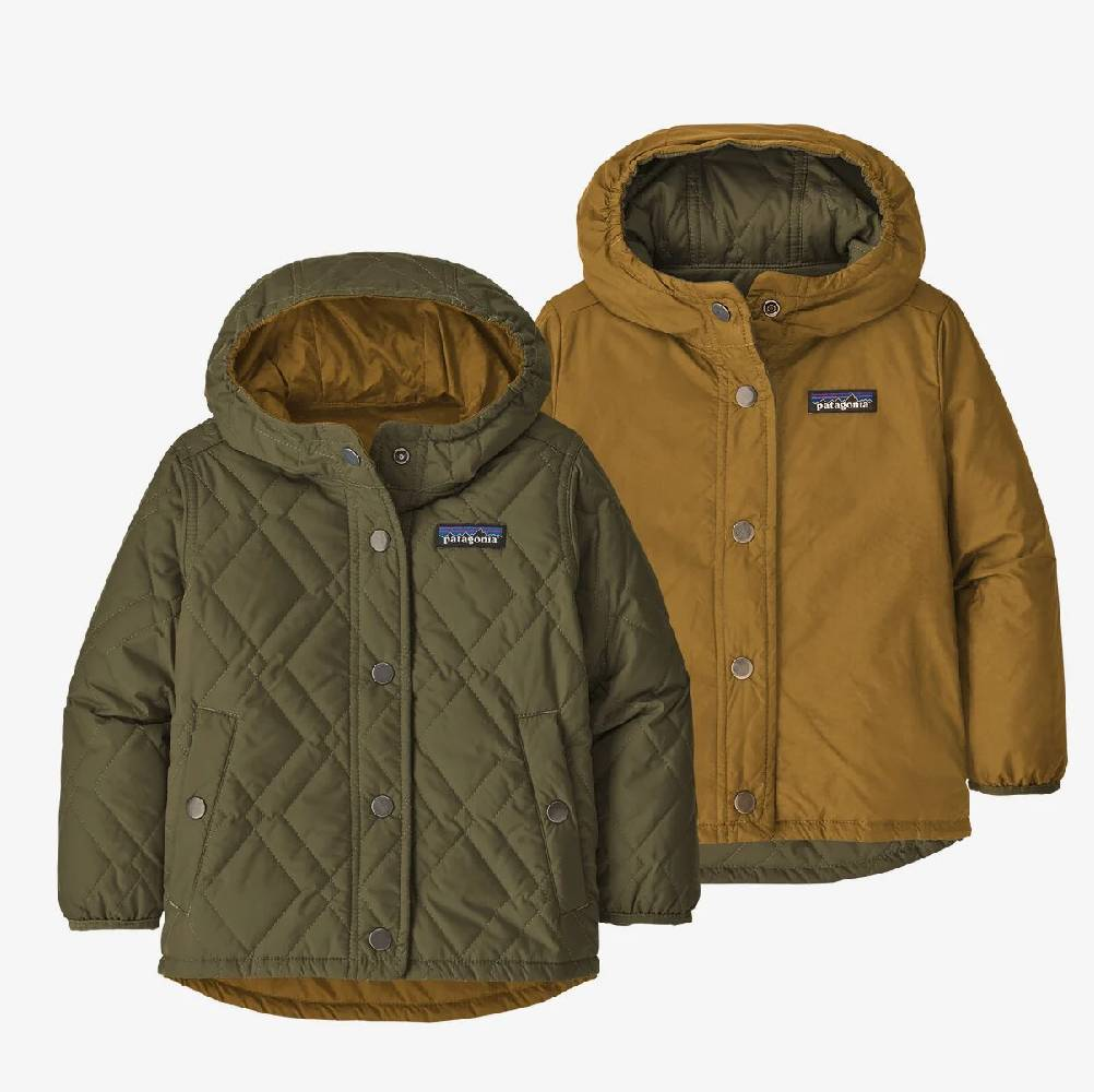 Patagonia Kid's Reversible Diamond Quilt Jacket KIDS - Baby - Unisex Baby Clothing Patagonia Teskeys