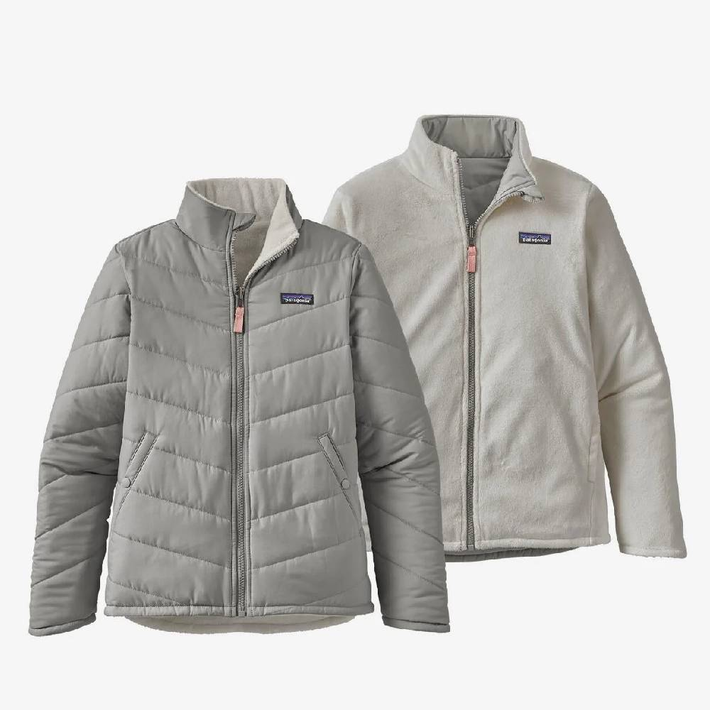 Patagonia Girl's Reversible Snow Flower Jacket KIDS - Girls - Clothing - Outerwear - Jackets Patagonia Teskeys