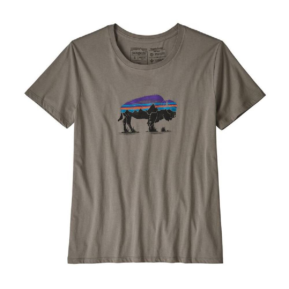 Patagonia Roy Fitz Bison Crew Tee WOMEN - Clothing - Tops - Short Sleeved Patagonia Teskeys
