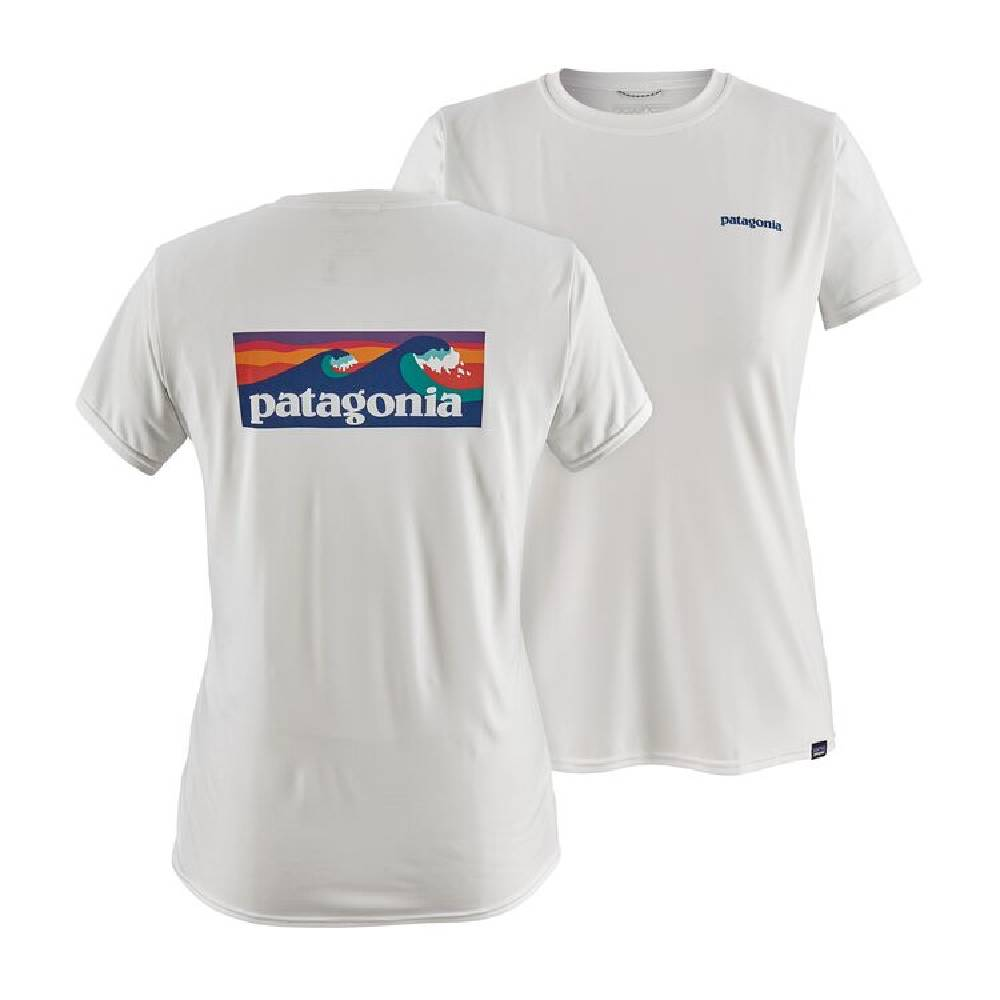 Patagonia Capilene Cool Daily Graphic Tee WOMEN - Clothing - Tops - Short Sleeved Patagonia Teskeys