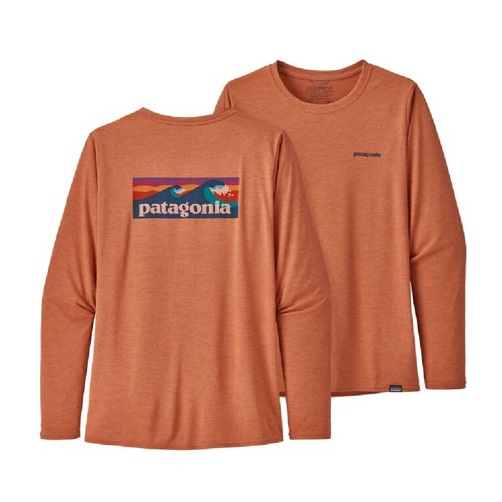Patagonia Capilene Cool Graphic Tee WOMEN - Clothing - Tops - Long Sleeved Patagonia Teskeys