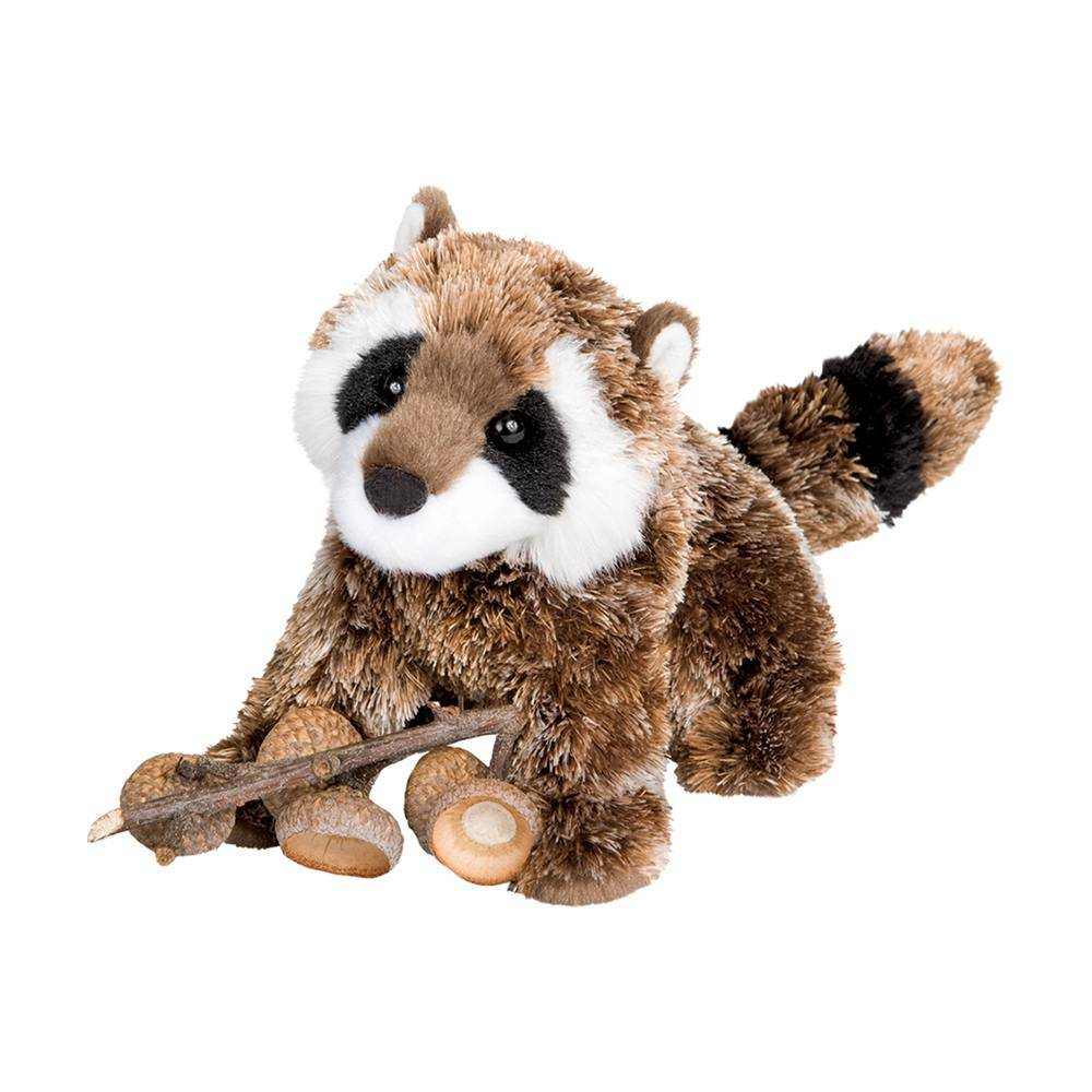 Patch Racoon Plush Toy KIDS - Accessories - Toys Douglas Toys Teskeys