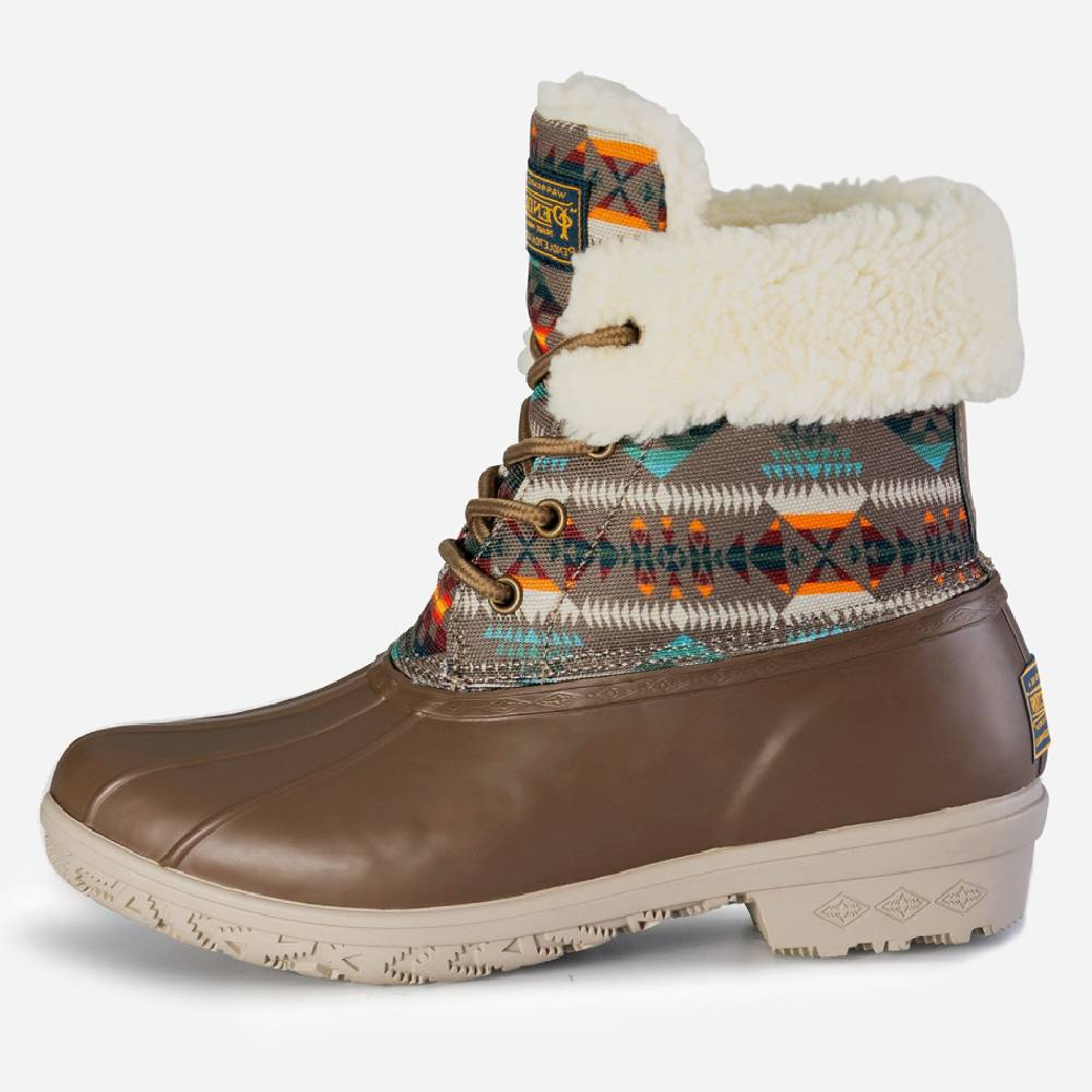 Pendleton Heritage Basketmaker Duck Boot WOMEN - Footwear - Boots - Fashion Boots PENDLETON Teskeys