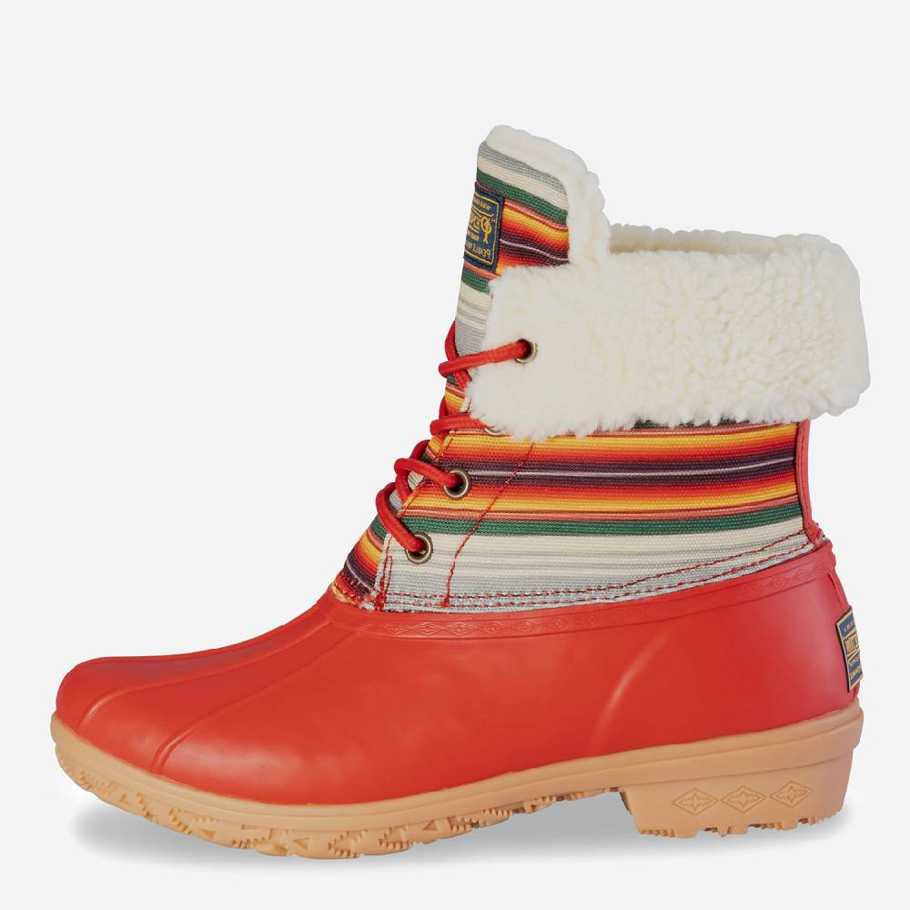 Pendleton Heritage Serape Duck Boot WOMEN - Footwear - Boots - Fashion Boots PENDLETON Teskeys