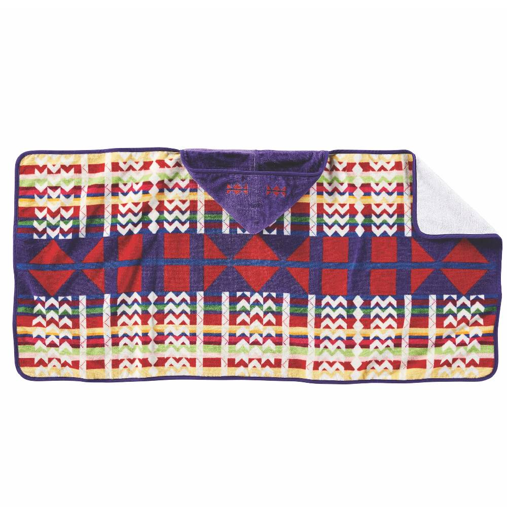 Pendleton Hooded Baby Towel - Morning Cradleboard KIDS - Baby - Baby Accessories PENDLETON Teskeys