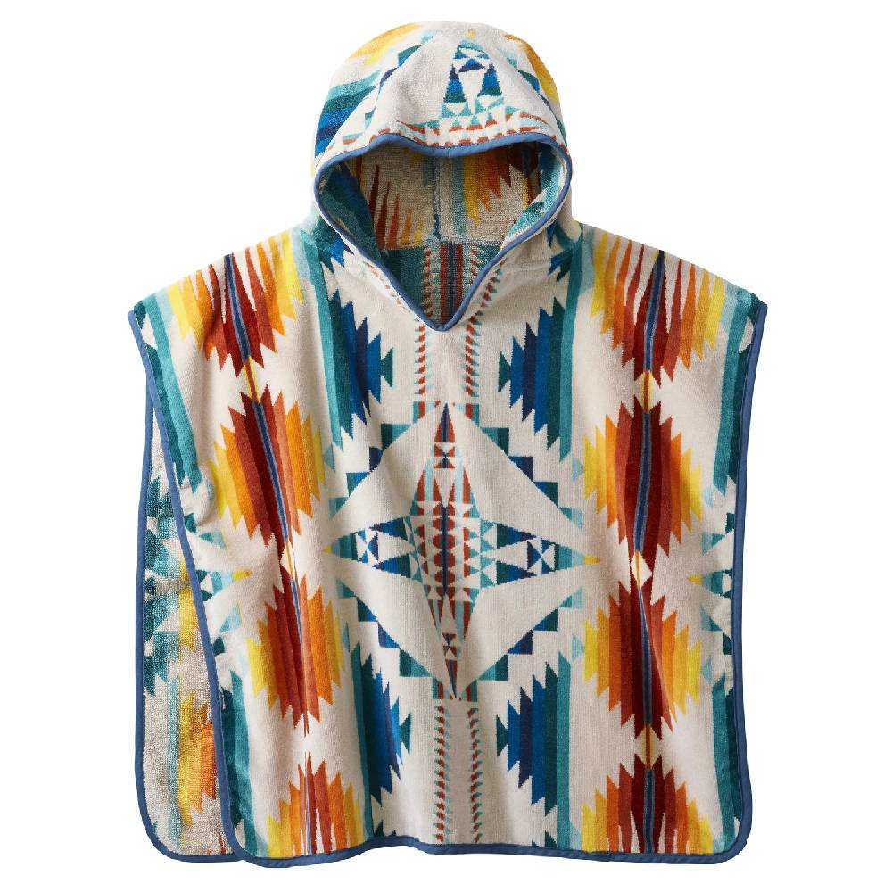 Pendleton Kid's Jacquard Hooded Towel - Falcon Cove Sunset KIDS - Baby - Baby Accessories PENDLETON Teskeys