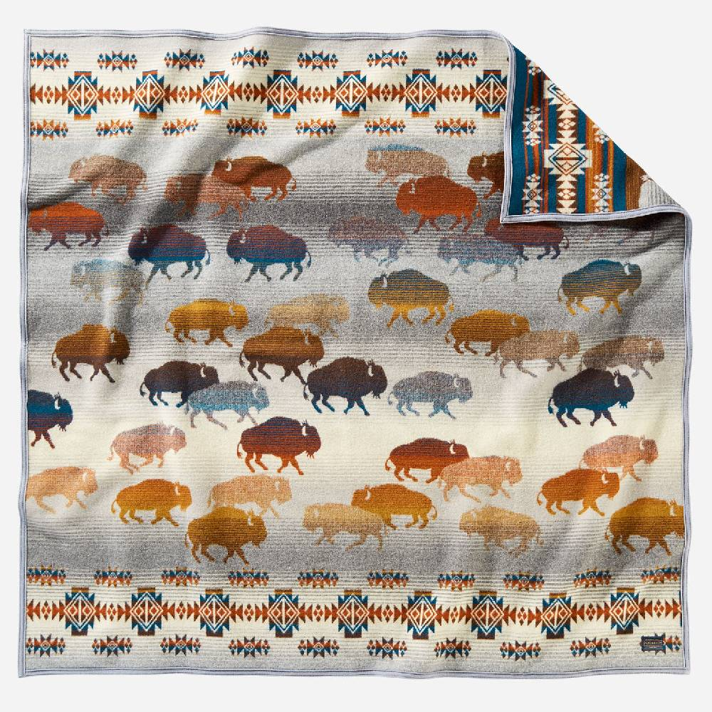 Pendleton Prairie Rush Hour Throw HOME & GIFTS - Home Decor - Blankets + Throws PENDLETON Teskeys