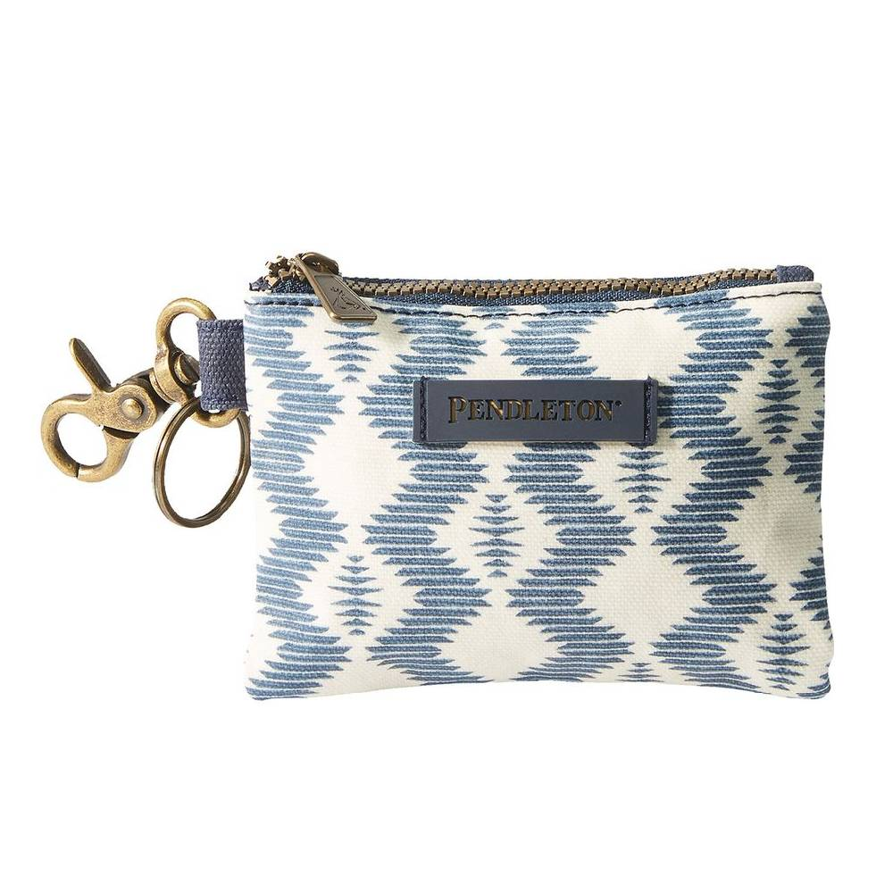 Pendleton Zigzag River ID Pouch Key Ring WOMEN - Accessories - Handbags - Wallets PENDLETON Teskeys