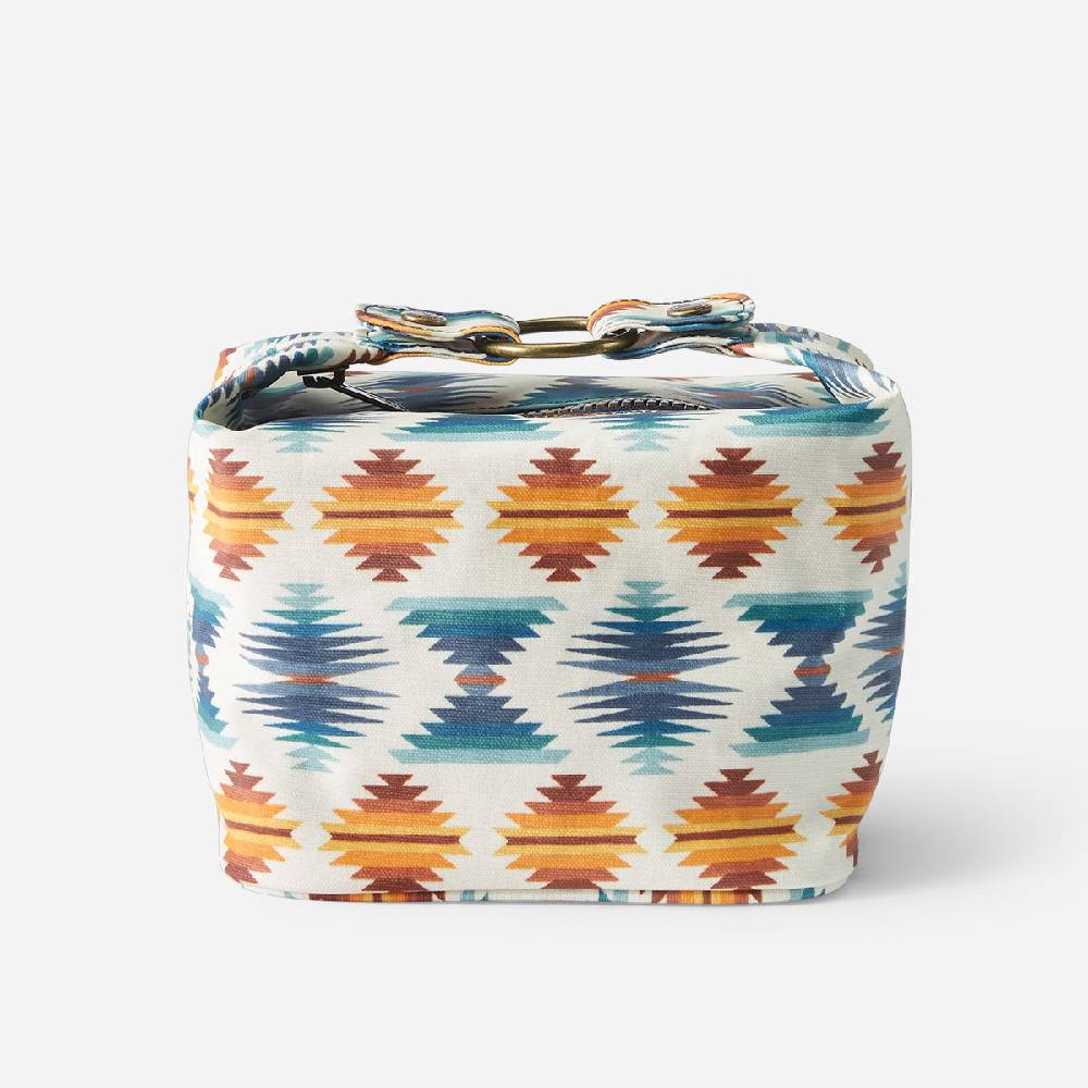 Pendleton Falcon Cove Sunset Canvas Cosmetic Case WOMEN - Accessories - Handbags - Clutches & Pouches PENDLETON Teskeys