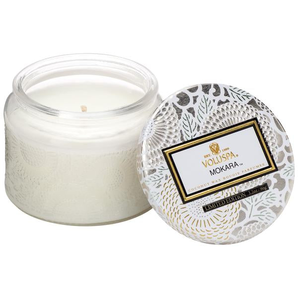 Mokara Petite Jar Candle HOME & GIFTS - Home Decor - Candles + Diffusers Voluspa Teskeys