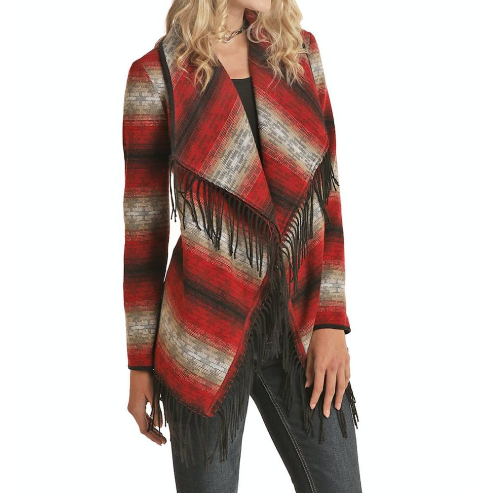 Powder River Wool Fringe Jacket WOMEN - Clothing - Outerwear - Jackets Panhandle Teskeys
