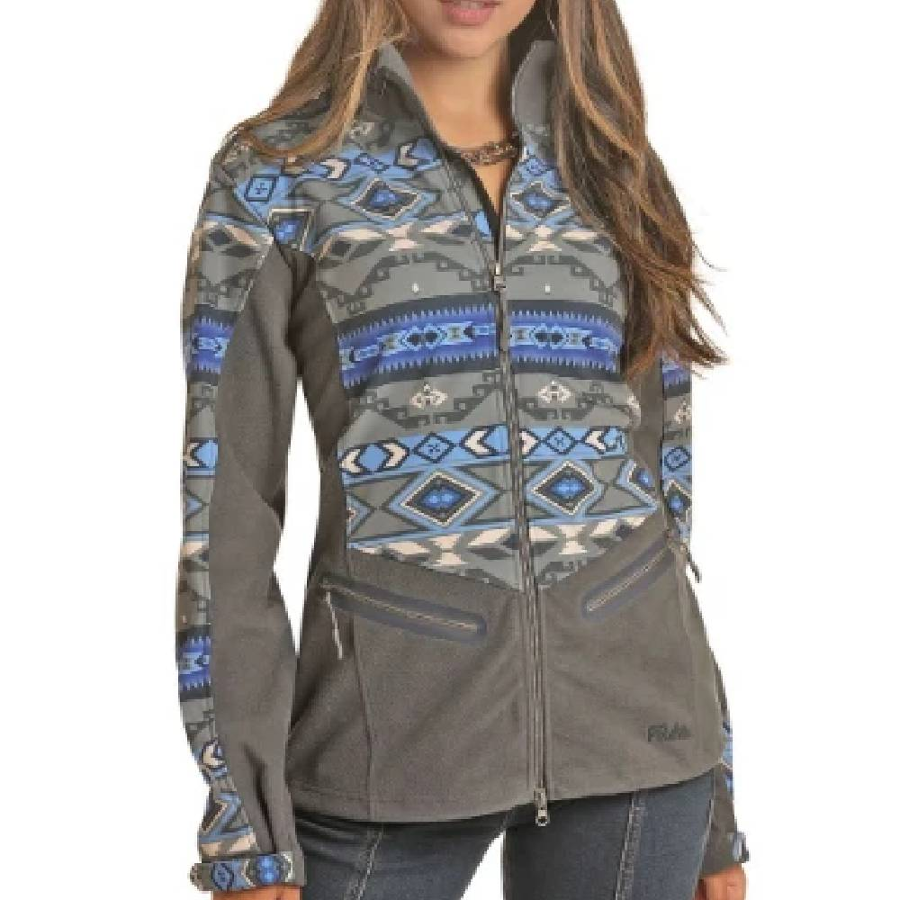 Powder River Women's Aztec Softshell Jacket WOMEN - Clothing - Outerwear - Jackets Panhandle Teskeys