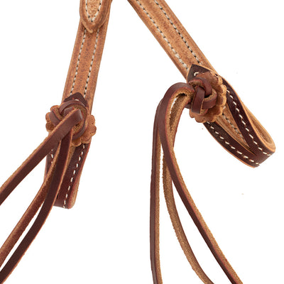 Patrick Smith Two Tone One Ear Headstall Tack - Headstalls - One Ear Patrick Smith Teskeys