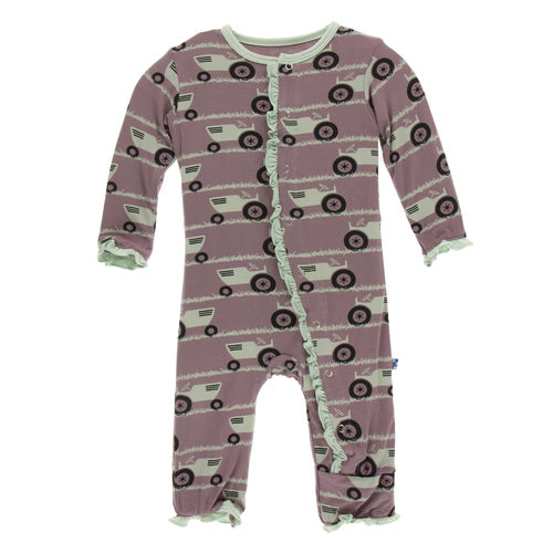 RAISIN TRACT & GRASS COVERALL KIDS - Baby - Baby Boy Clothing Teskeys Teskeys
