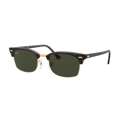Ray-Ban Mock Tortoise Clubmaster Square Sunglasses ACCESSORIES - Additional Accessories - Sunglasses RAYBAN Teskeys