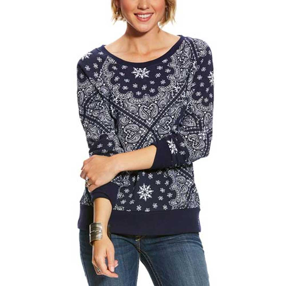 Ariat Relaxed Pullover WOMEN - Clothing - Sweatshirts & Hoodies Ariat Clothing Teskeys