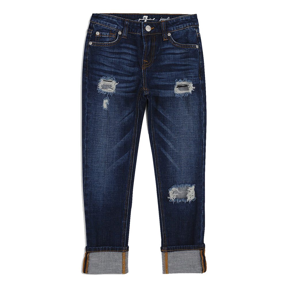 7 For All Mankind Girls Josephine Skinny Boyfriend Jean KIDS - Girls - Clothing - Jeans 7FAM KIDS Teskeys
