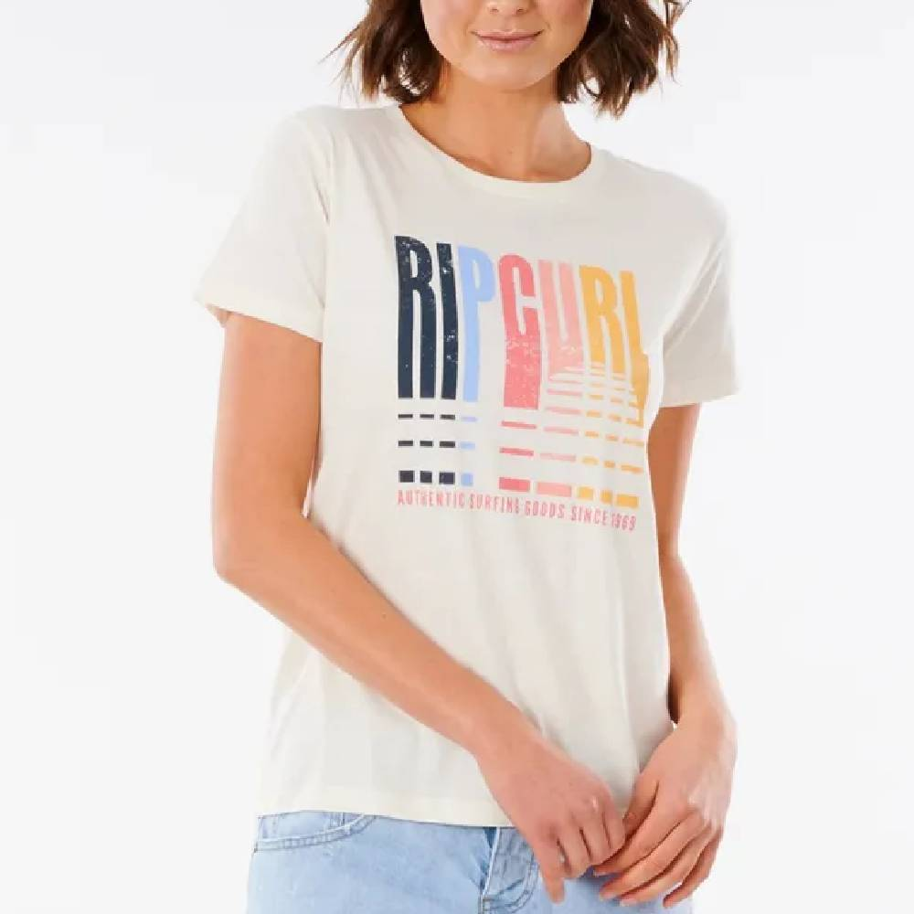 Rip Curl Golden State Tee WOMEN - Clothing - Tops - Short Sleeved RIP CURL Teskeys