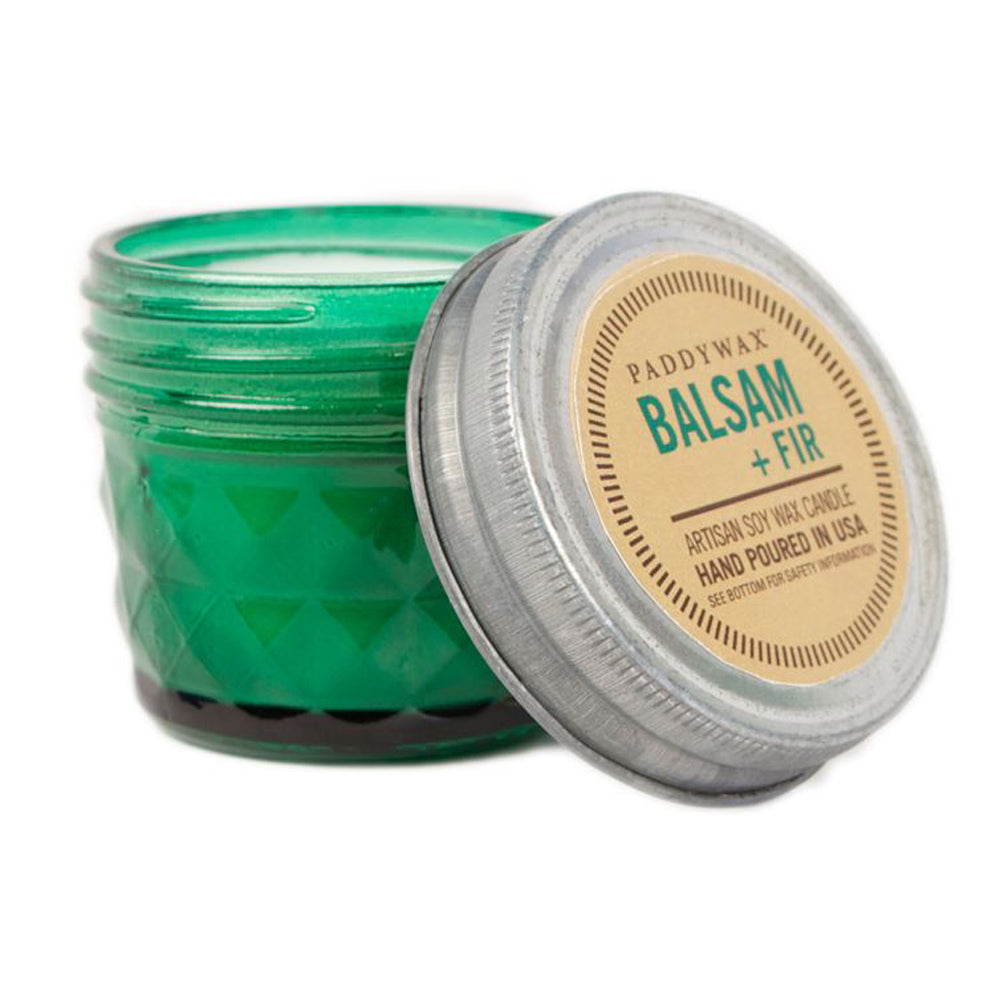 Balsam + Fir Relish Jar Candle HOME & GIFTS - Home Decor - Candles + Diffusers Paddywax Teskeys