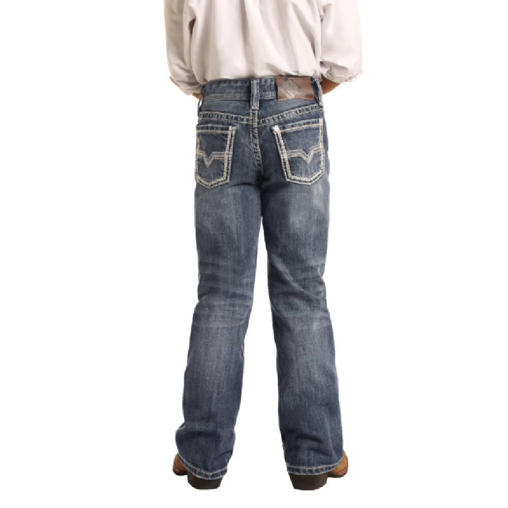 Rock & Roll Denim Boys BB Gun Bootcut Jean KIDS - Boys - Clothing - Jeans Panhandle Teskeys