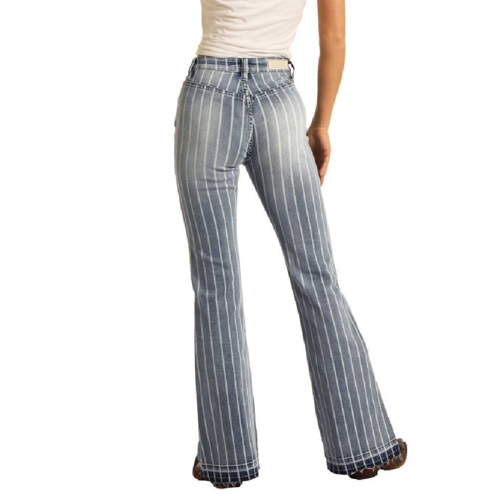 Rock & Roll Cowgirl High Rise Trouser Jean WOMEN - Clothing - Jeans PANHANDLE SLIM Teskeys