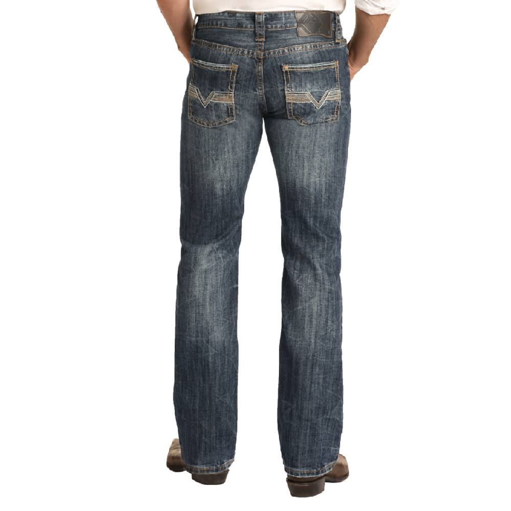 Rock & Roll Pistol Straight Leg Jean MEN - Clothing - Jeans Panhandle Teskeys