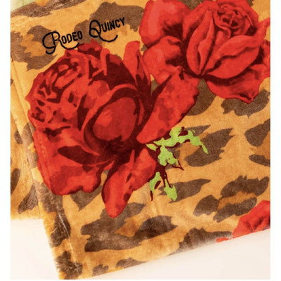 Rodeo Quincy Leopard Lydie Baby Blanket KIDS - Baby - Baby Accessories RODEO QUINCY Teskeys