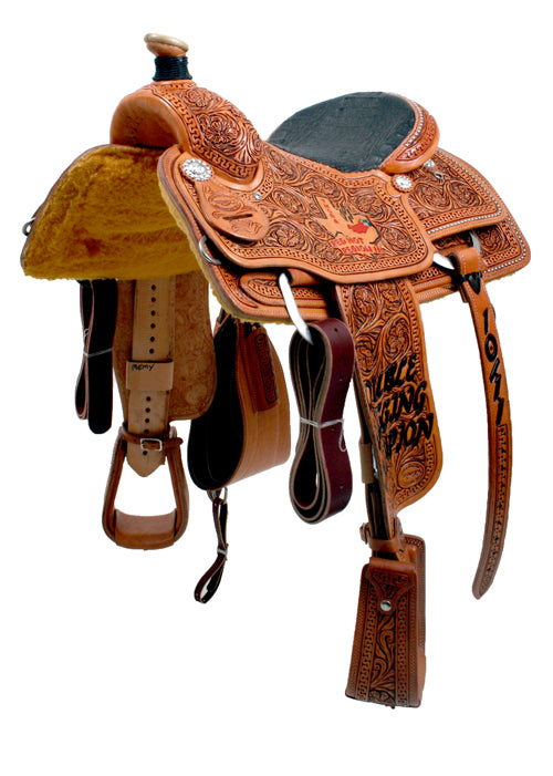TESKEY'S TROPHY CALF ROPING SADDLE CUSTOMS & AWARDS - SADDLES Teskey's Teskeys