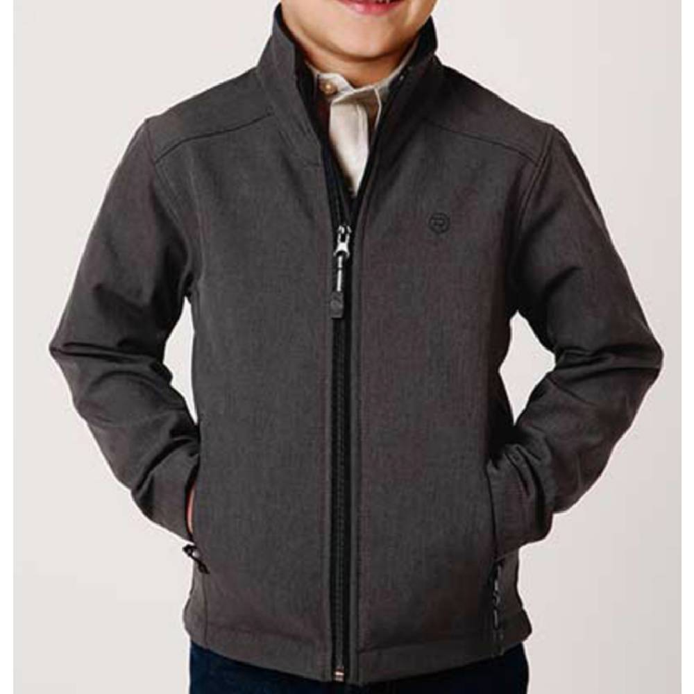 Roper Boy's Soft Shell Fleece Jacket KIDS - Boys - Clothing - Outerwear - Jackets ROPER APPAREL & FOOTWEAR Teskeys