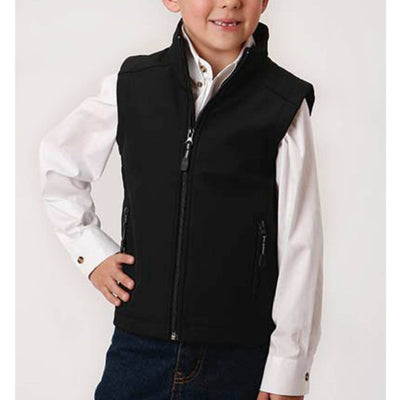 Roper Boy's Soft Shell Fleece Vest KIDS - Boys - Clothing - Outerwear - Vests ROPER APPAREL & FOOTWEAR Teskeys