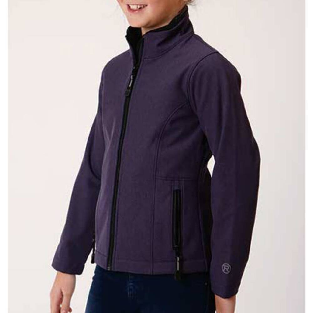 Roper Girl's Soft Shell Fleece Jacket KIDS - Girls - Clothing - Outerwear - Jackets ROPER APPAREL & FOOTWEAR Teskeys