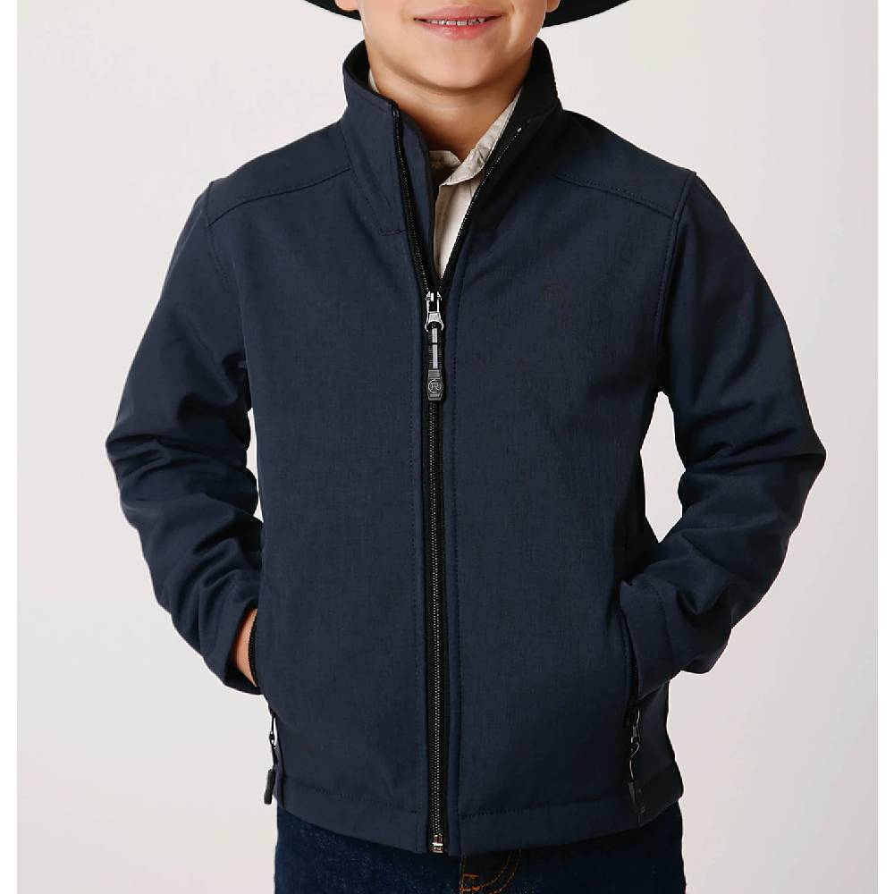 Roper Soft Shell Fleece Jacket KIDS - Boys - Clothing - Outerwear - Jackets ROPER APPAREL & FOOTWEAR Teskeys